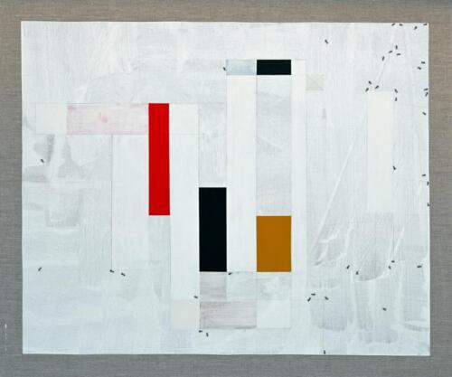 Allaias Acrylic on linen 85 x 105 cm 2020 .