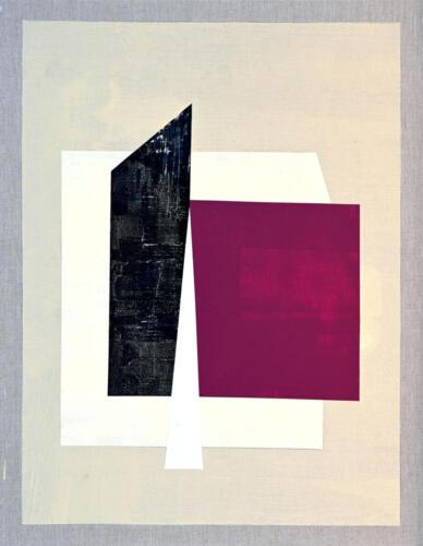 Composition 2. Acrylic on linen 121x94 cm, 2020.