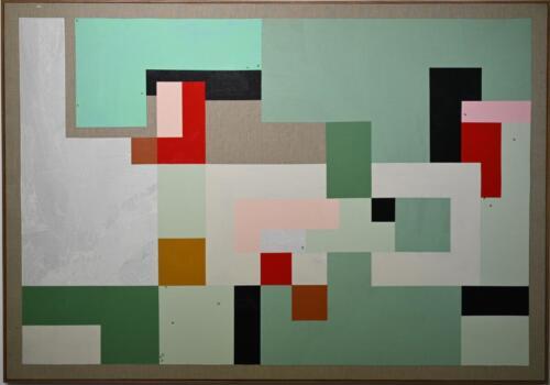 Carmel Acrylic on linen 128 x 183 cm 2020.