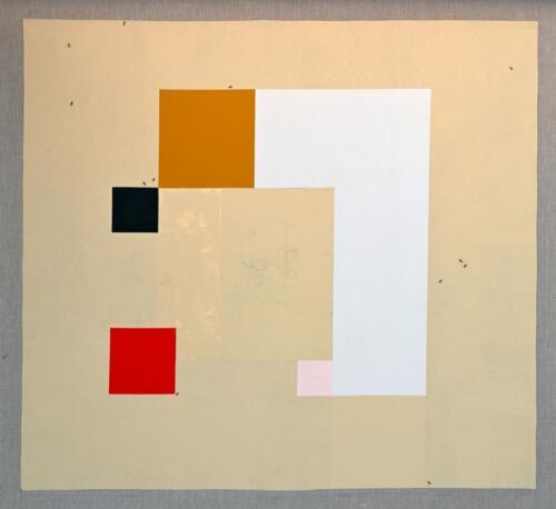 Malaga Acrylic on linen 119 x 129 cm 2020 .
